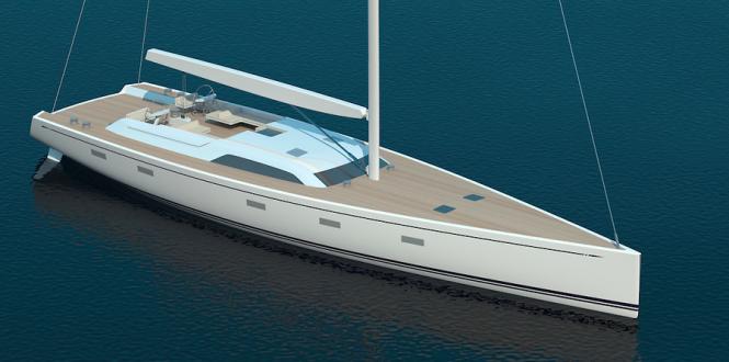 Swan 95 S superyacht - Image courtesy of Nautor's Swan