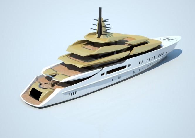 Tankoa S801 superyacht design