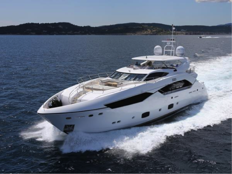 "The Sunseeker 115 Sport Yacht – ""ZOZO"" appeals to all tastes"