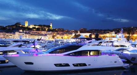 The Sunseeker display at the 2014 Cannes Yachting Festival was the biggest and best it has been