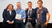Ventura team receive Ferretti Group Sales Award