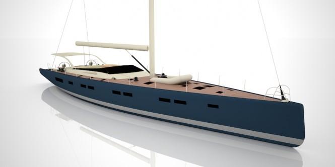 Vismara Marine sailing yacht Nakupenda
