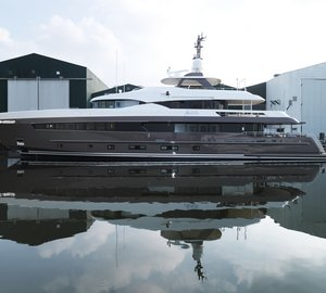 Heesen Yachts announces launch of YN 17042 motor yacht ALIVE – First motor yacht equipped with Hull Vane®