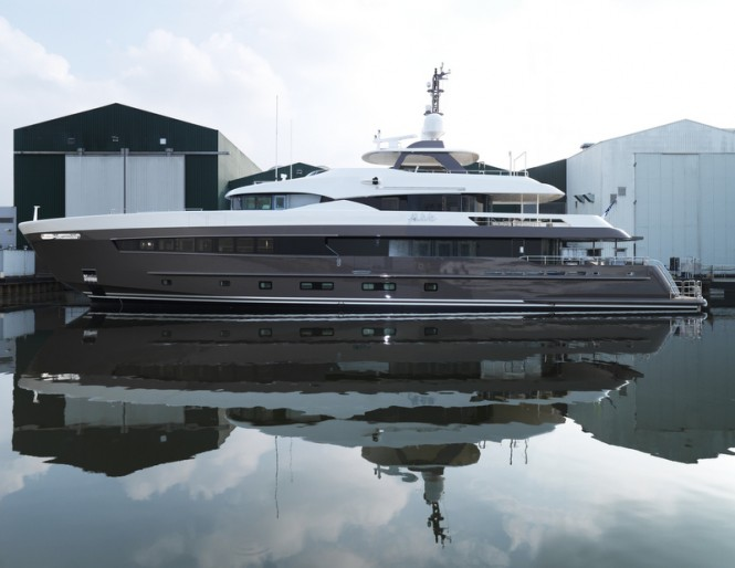 YN17042 superyacht ALIVE by Heesen - Photo credit to Dick Holthuis