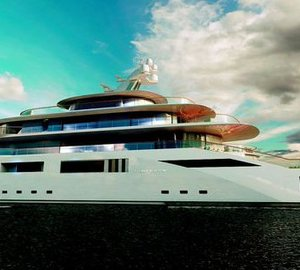 Pride Mega Yachts unveil 108,8m mega yacht TOMORROW project at Monaco Yacht Show 2014