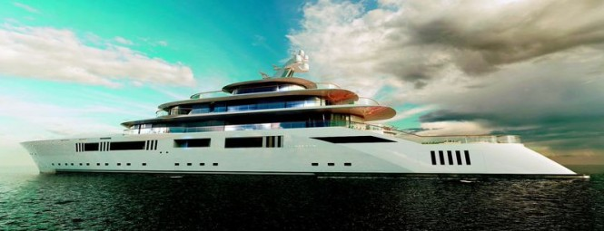 108,8m mega yacht Tomorrow project unveiled by Pride Mega Yachts