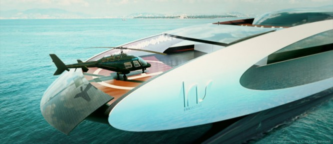 125m Iris Series Yacht - Heli open