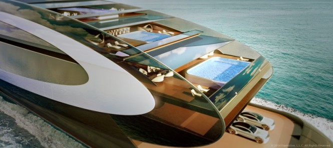 125m Iris Series superyacht - Solar Panels