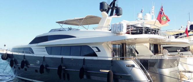 26m superyacht The Next Episode by Wim van der Valk at the 2014 Cannes Yachting Festival