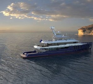Fresh details of 50m expedition yacht 'yard number 1016′ (ex Big Star) released by McMullen & Wing