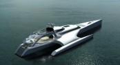 53m trimaran yacht Galaxy by Latitude Yachts