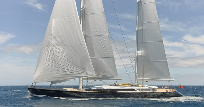 56m sailing yacht MONDANGO 3 (AY46) by Alloy Yachts - Image credit to Chris Lewis