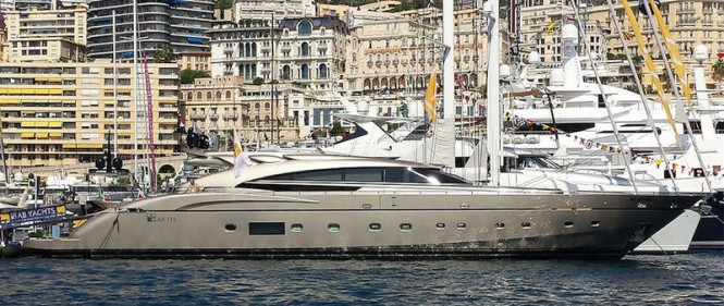 AB 116 superyacht MUSA at the 2014 Monaco Yacht Show