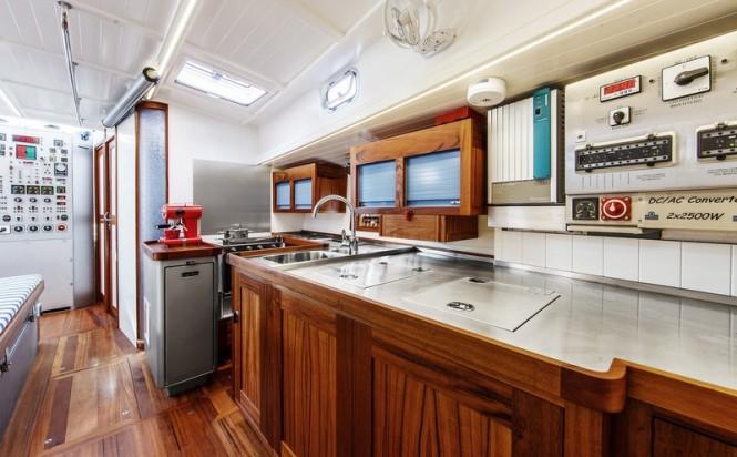 Aboard Anabel Yacht