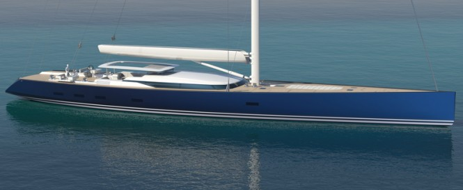 Alloy sailing yacht PS46