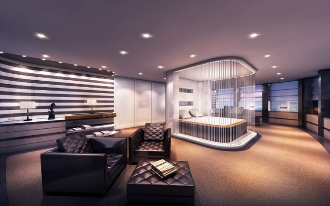 Austin Yacht Concept - Owners Stateroom