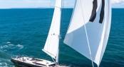 Baltic 107 Yacht Inukshuk under sail