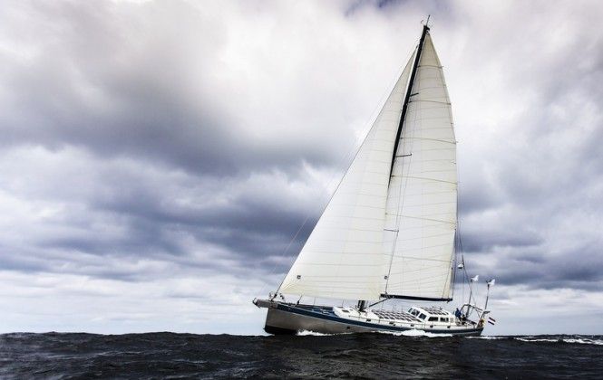 Bestevaer 66ST Yacht Anabel under sail