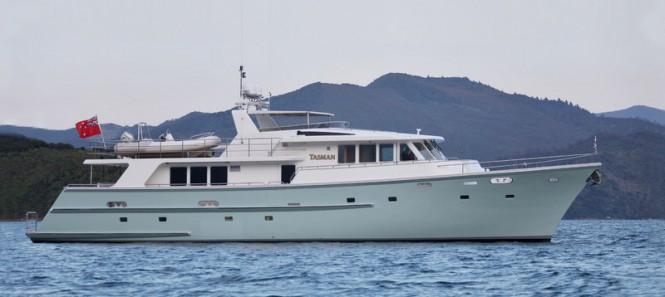Carey superyacht Tasman