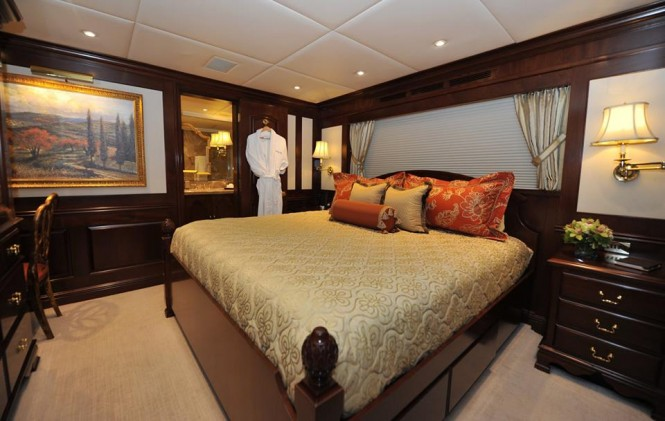 Chevy Toy superyacht - refitted cabin
