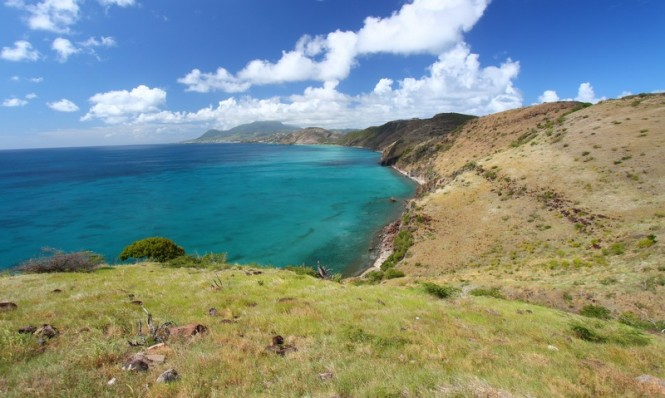 Coastline of St Kitts
