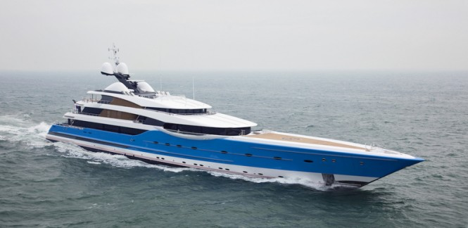 Feadship luxury motor yacht Madame GU