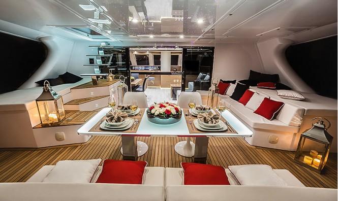 GRACE Yacht - Cockpit