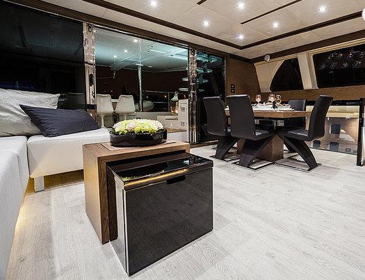 GRACE yacht - Saloon