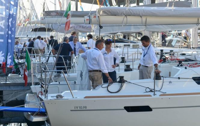 Genoa Boat Show 2014 Day 1
