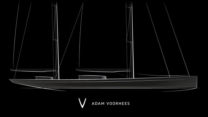 Latest 70m mega yacht project by Adam Voorhees