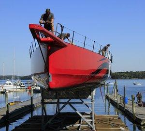 Hodgdon announces launch of 100ft carbon race yacht COMANCHE