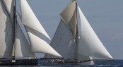 Les Voiles de St Tropez 2014 - Sailing yachts Marygold and Partridge