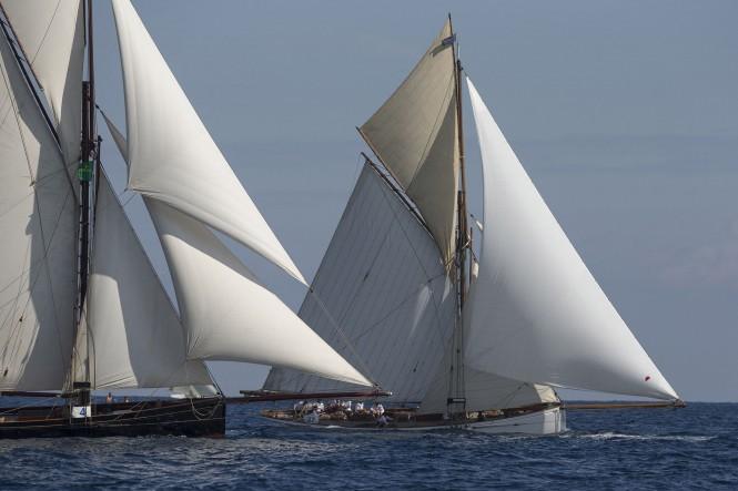 Les Voiles de St Tropez 2014 - Sailing yachts Marygold and Partridge
