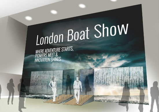 London Boat Show Entrance Open