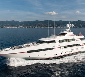 Sunrise Yachts delivers 45m motor yacht ATOMIC (Project Sunset)