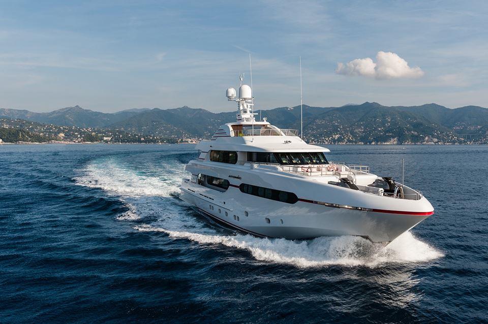 Luxury Motor Yacht Atomic Yacht Charter Superyacht News