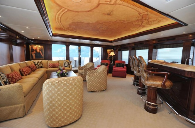 Luxury motor yacht Chevy Toy - Interior refit
