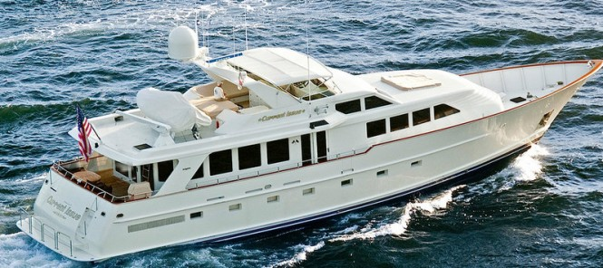 Luxury motor yacht Current Issue by Burger Boat Company