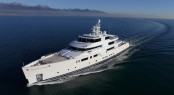 Luxury motor yacht Grace E by Perini Navi