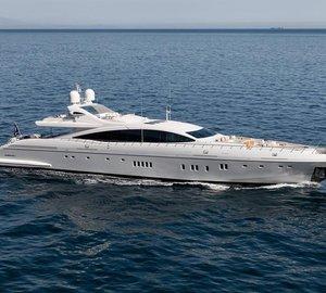 Superyacht of the Year 2014 Award for Mangusta 165E motor yacht MOONRAKER
