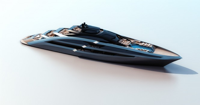 Luxury motor yacht Sea Arrow concept