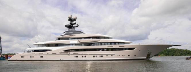 Luxury superyacht Kismet - Photo by Klaus Jordan