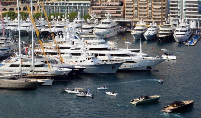 Luxury superyachts on display at MYS 2014