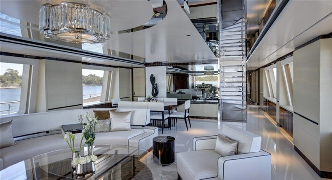 Luxury yacht COMO - Interior