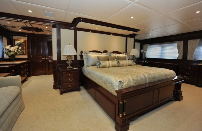 Luxury yacht Chevy Toy - refitted cabin