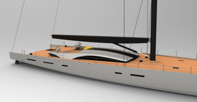 Luxury yacht OCD 130 concept