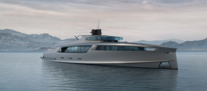 Luxury yacht Project Taurus