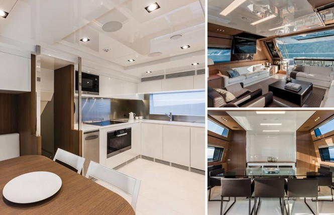 Luxury yacht SOL - Interior