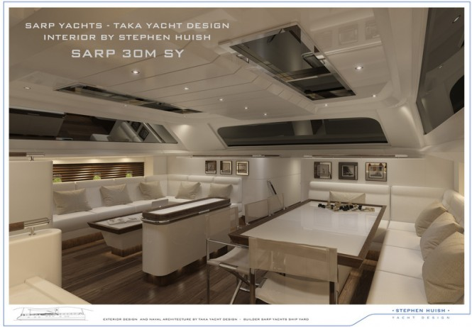 Luxury yacht THE GEM - Interior