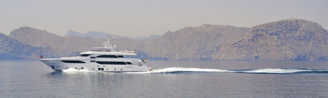 Majesty 135 Yacht in Oman